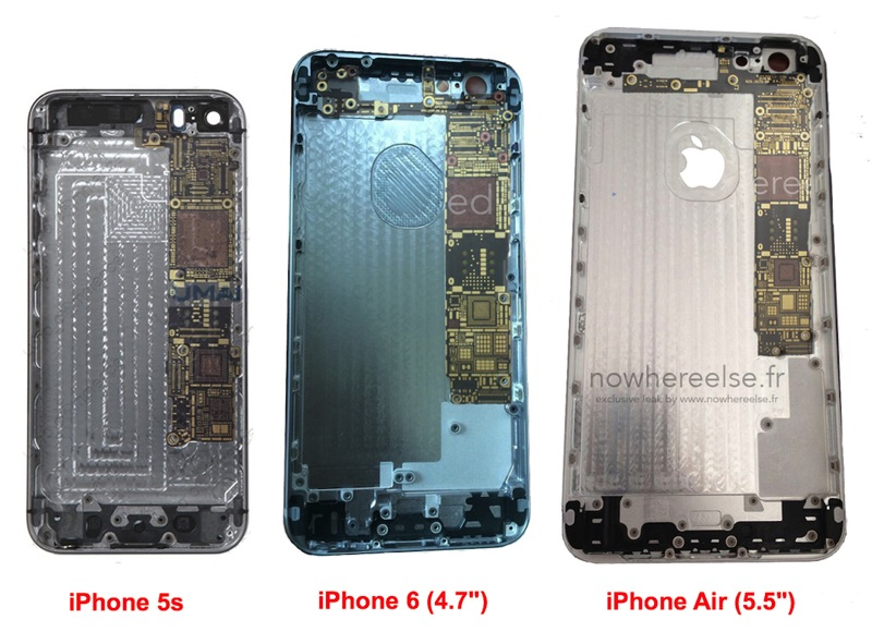 Iphone 5s vs iphone 6 vs iphone air