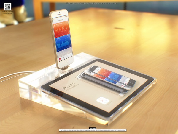 Iphone 6 concept retail