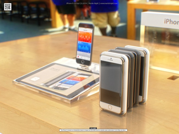 Iphone 6 retail concept 3