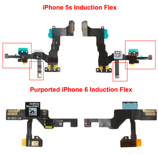 Iphone6 induction flex cable