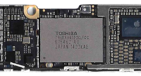 Iphone 6 nand flash