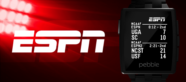 Pebble espn banner red