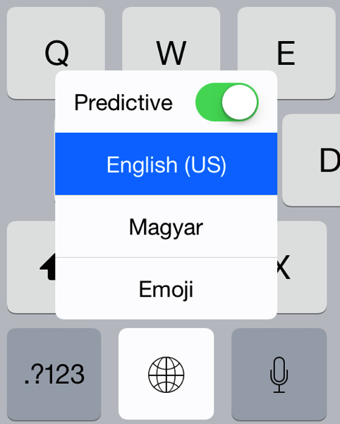Predictive text