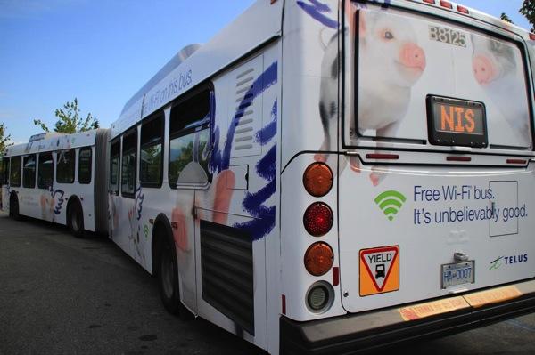 Telus wifi buses