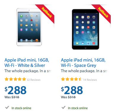 Tesla Canada Model 3 >> Walmart Rollback: 16GB Wi-Fi iPad mini on Sale for $288 | iPhone in Canada Blog