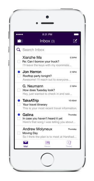 Yahoo mail new