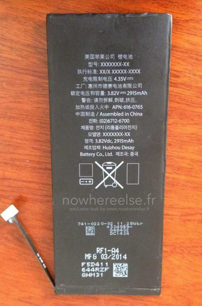 2915mah iphone 6 001