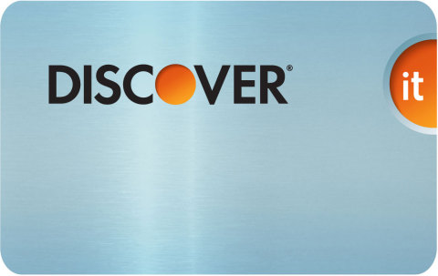 Blue Discover it Card Front 072012