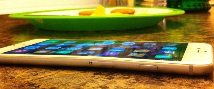 Bent iphone 6 plus