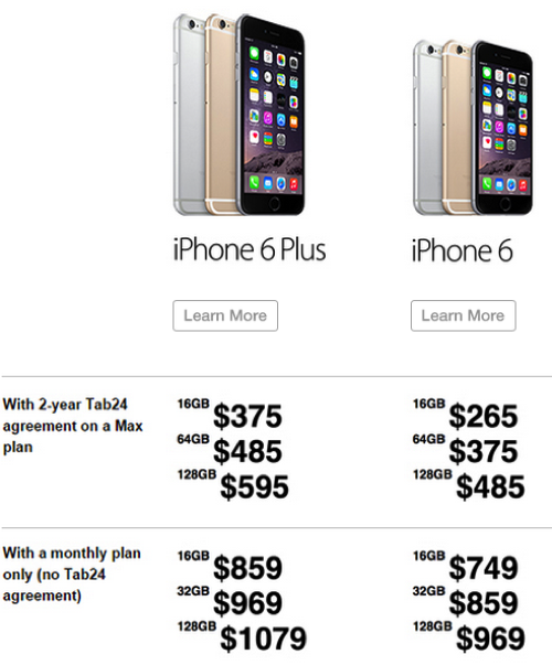 cost of an iphone 6 iphone price of iphone 6 16835