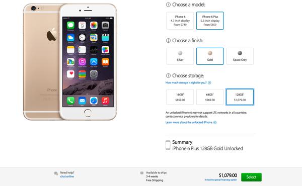 Iphone 6 plus preorder