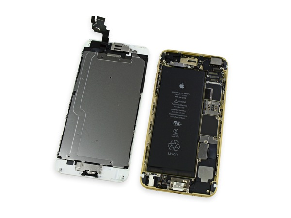 Iphone 6 plus teardown battery