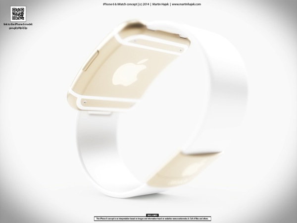 Iwatch concept rear