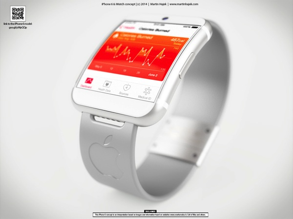 Iwatch interface concept