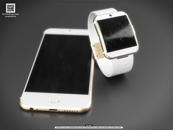 Iwatch iphone 6 gold 4