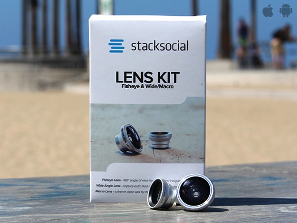The 3-in-1 Mobile Lens Kit Works with iPhone 6, On Sale for 56% Off, Shipped Free [Deals]
