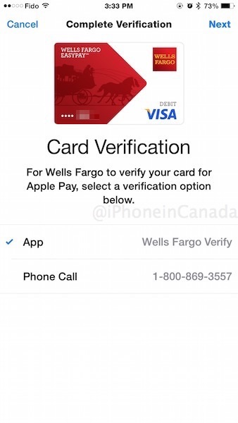 Visa Credit Card Login >> How to Buy a Wells Fargo Prepaid Visa for Apple Pay in Canada [PICS] | iPhone in Canada Blog