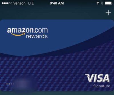 Amazon visa apple pay
