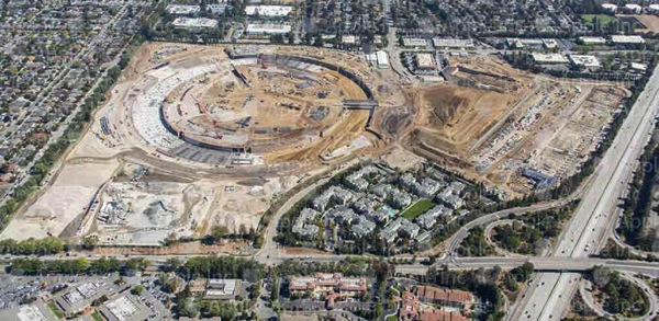 Apple campus2 aerial