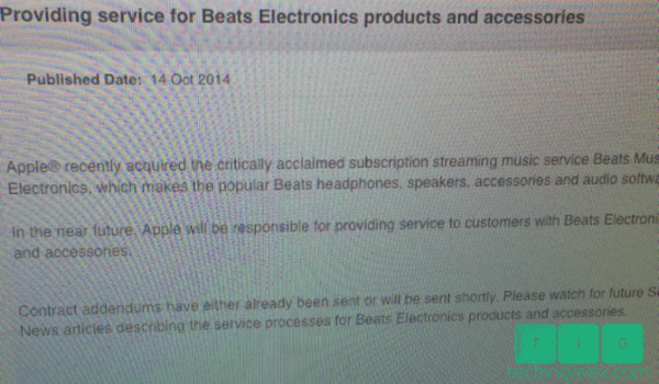 Beats service apple