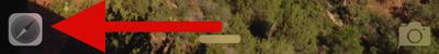 Handoff icon on lock screen ios 1