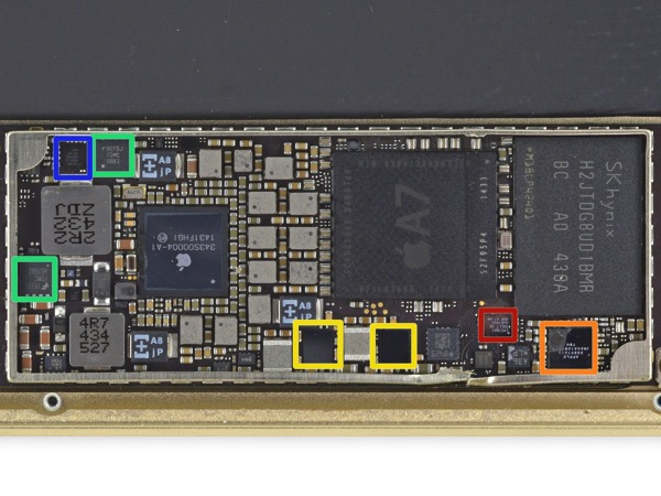 Ipad mini 3 teardown logic board rear