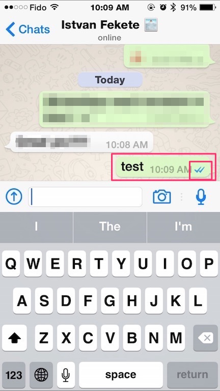 WhatsApp Adds Read Receipts to Chats Indicated by Blue Checkmarks [PIC]