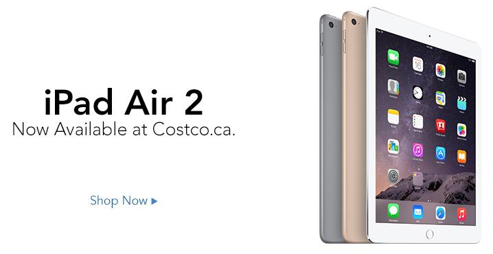 Costco.ca Now Sells iPad Air 2, iPad mini 3, AirPort Time Capsule, AirPort Express