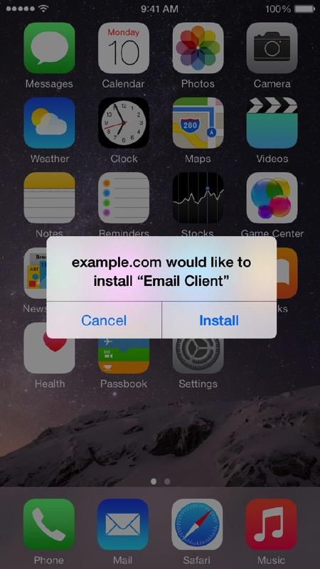 Install alert 1