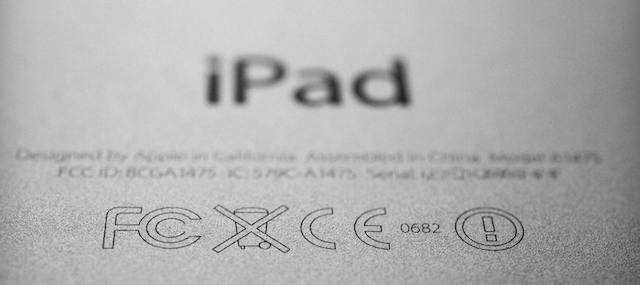 Ipad labels