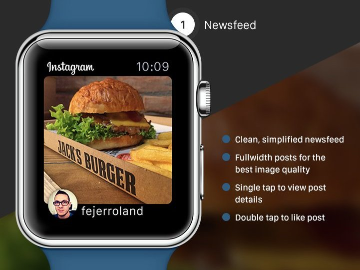 Instagram apple watch png