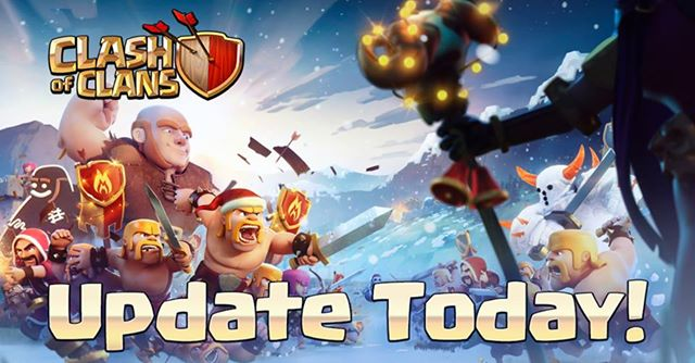clash of clans winter update