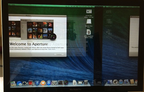 Macbook pro 2011 graphics issue