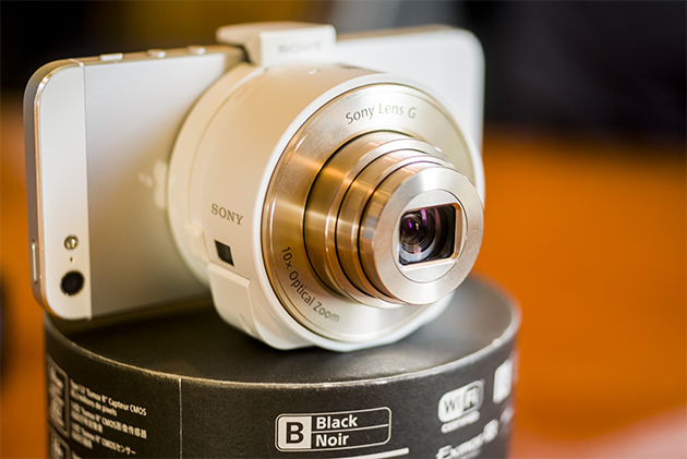 Sony's iPhone-Compatible DSCQX10 Lens Camera on Sale for $149.99
