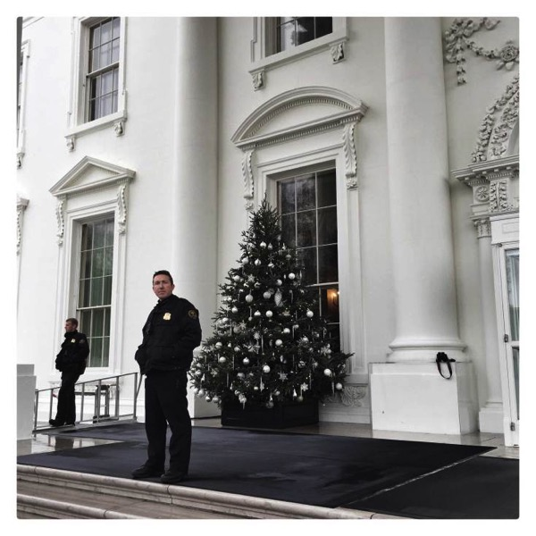 White house christmas holidays brooks kraft 12