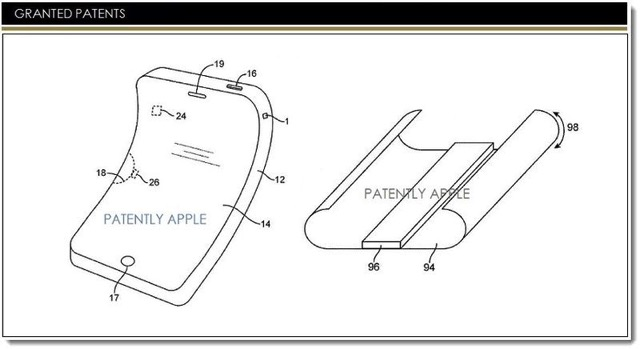 Apple Wins Patent for Future Flexible iPhones and Other iOS Devices