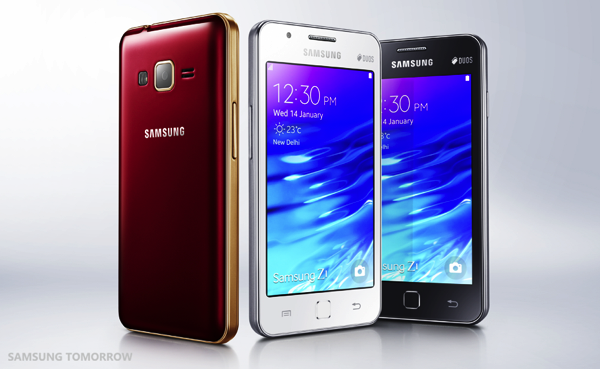 Samsung Unveils the Samsung Z1 the First Tizen Powered Smartphone
