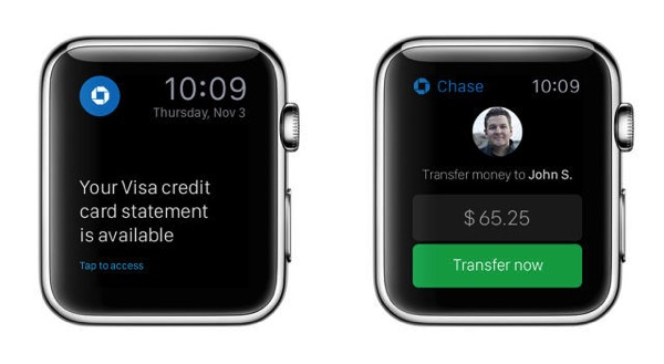 Chase apple watch