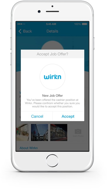 wirkn job offer