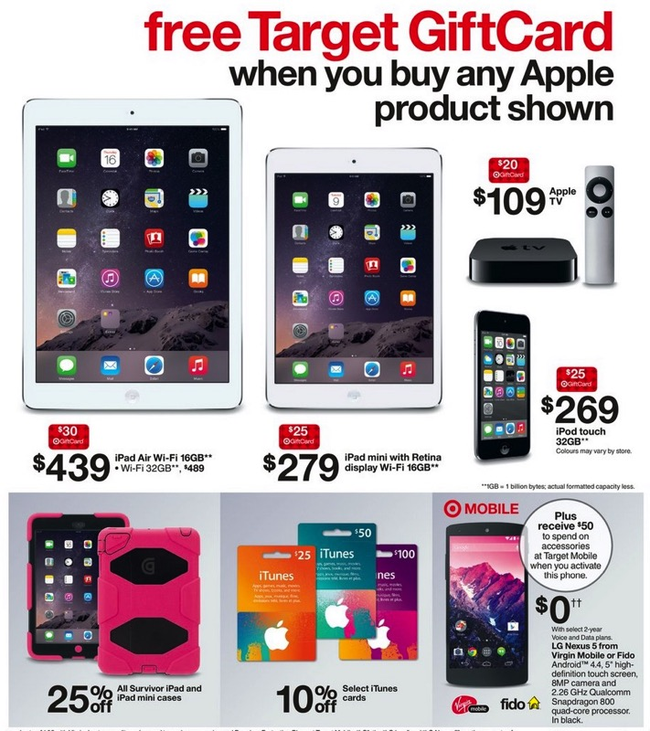 target iphone sale target apple sales mini 2 for 279 plus 25 gift 7764