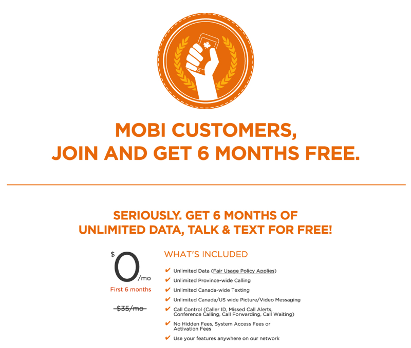wind mobile unlimited talk text data