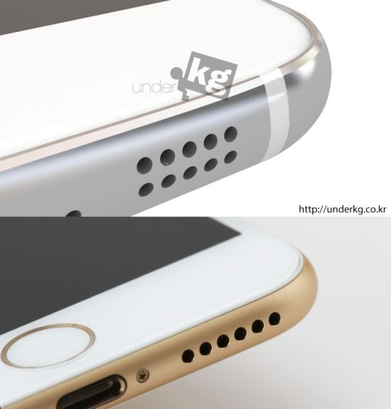 New renders show the Galaxy S6 compare it with the iPhone 6 1