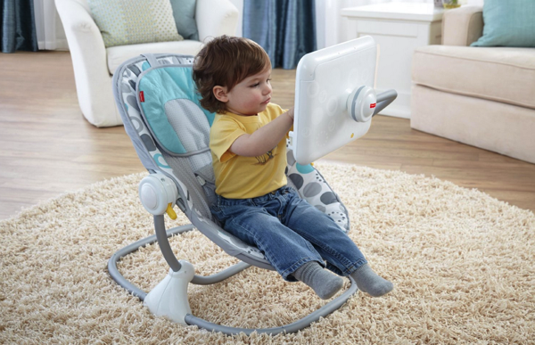 Newborn to toddler apptivity seat for ipad