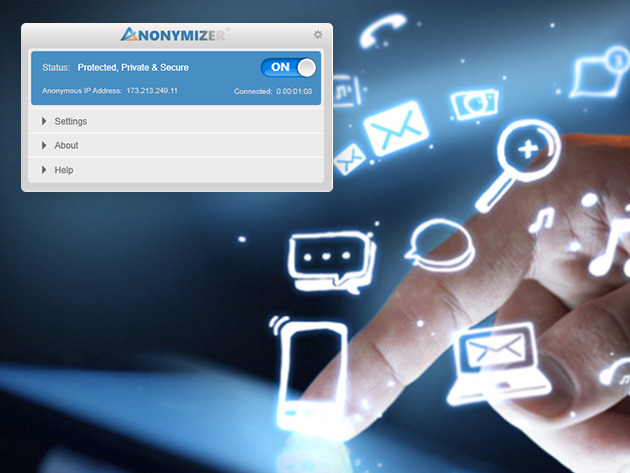 Redesign Anonymizer Universal VPN 1716MF