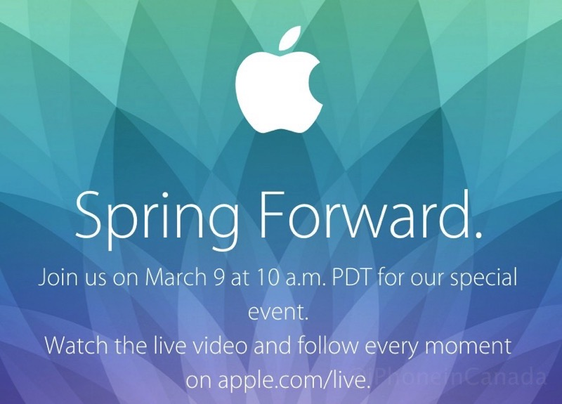 Apple march 9 live stream special event