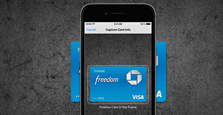 Chase apple pay