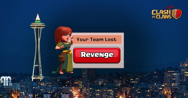 Clash of clans revenge