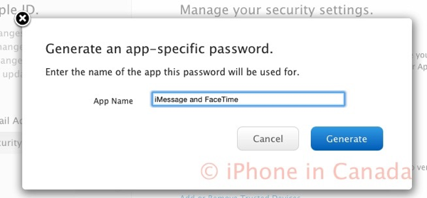 Facetime two step authentication