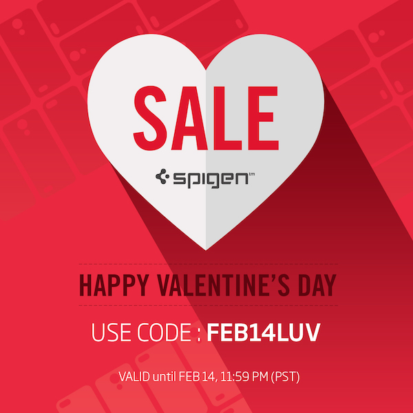 Spigen Promo Code Launched for Valentine's Day Shopping on Amazon Canada