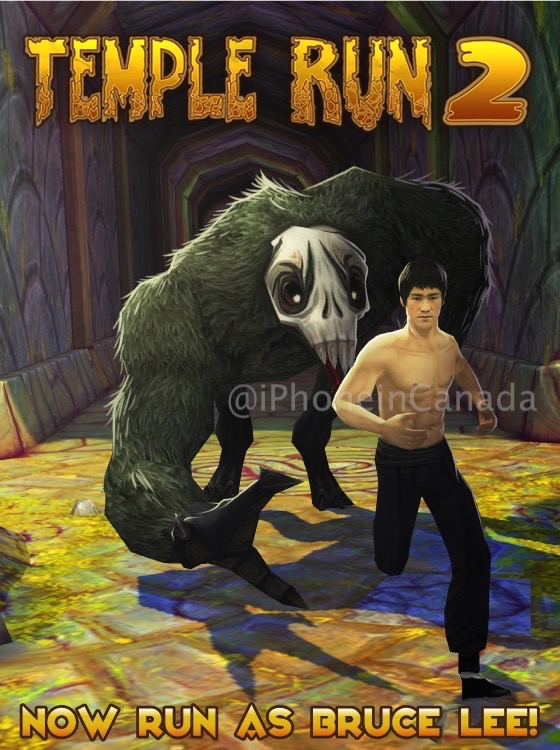 Temple run bruce lee 1